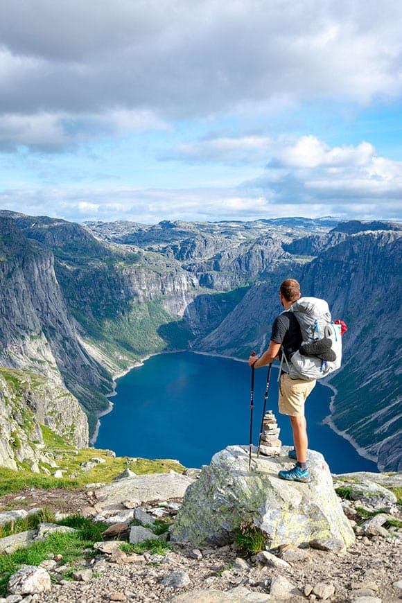 randonnee en pleine montagne perte de poids